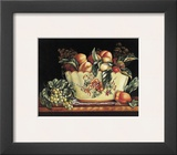 Peach Still Life Print by Kay Lamb Shannon