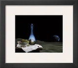 Dreams Are Served Print by Samy Charnine