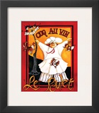 Coq Au Vin Prints by Jennifer Garant