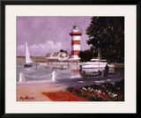 Morning at Harbour Town Prints by Ray Ellis