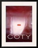 Coty Framed Giclee Print by Charles Loupot
