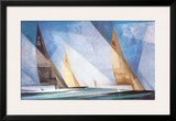 Sailing Boats Posters by Lyonel Feininger