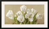 Tulipani bianchi Posters by Serena Biffi