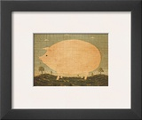 American Pig Prints by Warren Kimble