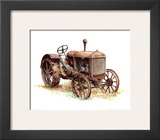 Early Model Mccormick-Deering Tractor Prints by Sharon Pedersen