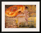 The Garden Parasol, 1909 Posters by Frederick Carl Frieseke
