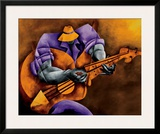 Blues Time Prints by Philemon Reid