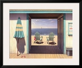 The Beach Club Posters by Daniel Pollera