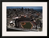 Pac Bell Park - San Franciso, California Print by Mike Smith