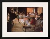 Ballet Rehearsal Poster by Edgar Degas