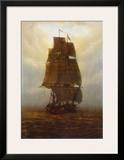 Sailing Ship Prints by Caspar David Friedrich