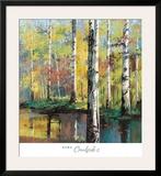 Creekside II Poster by Jie Zhou