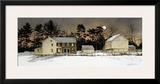 Spruce Hill Framed Giclee Print by Ray Hendershot