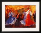 La Celebracion del Baile Posters by Sharon Carson