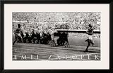 Emil Zatopek: 1952 Triple Gold Medalist Prints