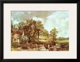 The Haywain, 1819 Art by John Constable