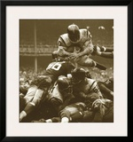 Over The Top: The Redskins vs. The Giants, c.1960 Art by Robert Riger