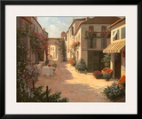 The Little Shop Print by Christa Kieffer