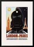 London-Paris Overnight Express Prints by Steve Forney