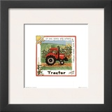 Tractor Prints by Lila Rose Kennedy