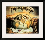 Geopoliticus Child Prints by Salvador Dalí