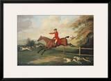 Fox Hunting Scene Prints by J.N. Sartorius