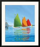 Cape Cod Sail Art by Sally Caldwell-Fisher