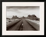 Highway 163, Monument Valley, Arizona Posters by Monte Nagler