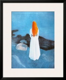 Young Girl on a Jetty Prints by Edvard Munch