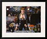 Bar at the Folies-Bergere, 1882 Prints by Édouard Manet
