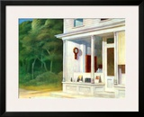 Seven A.M. Poster by Edward Hopper