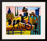 Going to Church Print by William H. Johnson