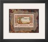 Senegal Stamp Prints by Ann Walker