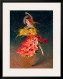 Spanish dancer Framed Giclee Print