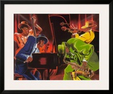 Mood 4 Jazz Prints by Steven Johnson