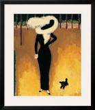 Parisienne Print by Kees van Dongen