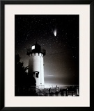 Comet Hale-Bopp over East Chop Prints by Mark Alan Lovewell