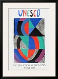 International Womens Year Print by Sonia Delaunay-Terk