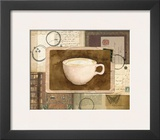 Vintage Cappuccino Prints by Lynnea Washburn