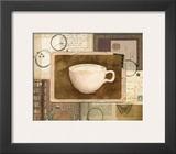 Vintage Cappuccino Prints by Lynnea Washburn