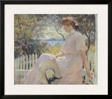 Eleanor 1907 Poster by Frank Weston Benson