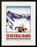Jungfrau Bahn Framed Giclee Print