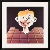 Chocolat Prints by Raymond Savignac