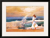 Butterfly Beach Posters by Richard Yaco