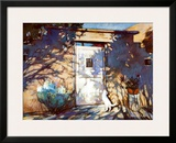 Santa Fe Shadows Art by Gary Blackwell