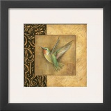 Hummingbird Square Prints by Susan Winget