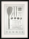 Tennis Print by Benard Direxit