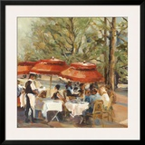 Lunch on the Champs Elysees Prints by Marilyn Hageman