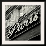 Newsprint Paris Print by Marc Olivier