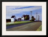 Route 6, Eastham Art by Edward Hopper
